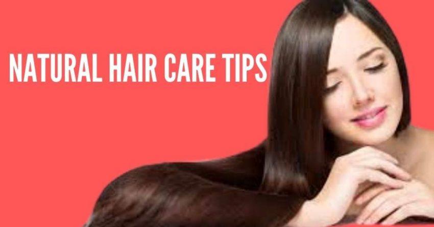 Homemade Hair Care Tips Under a Blue Sky